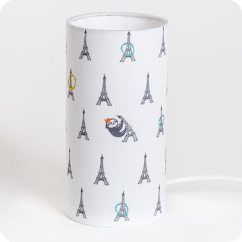 Cylinder fabric table lamp Fabuleuse Eiffel S