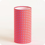 Cylinder fabric table lamp in Petit Pan fabric Mikko