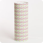 Cylinder fabric table lamp Riviera