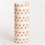 Cylinder fabric table lamp Tangente