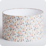 Drum fabric lamp shade / pendant shade Envol