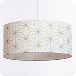 Drum fabric lamp shade / pendant shade Maxi hoshi or