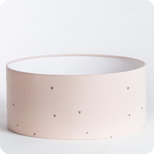 Cotton gauze drum lamp shade / pendant shade Stardust powder