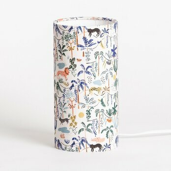 Cylinder fabric table lamp Wild M
