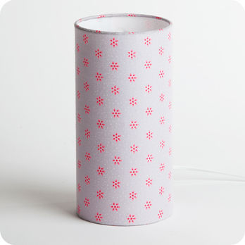 Cylinder fabric table lamp April 53 S