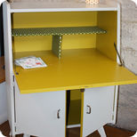 Small 50's secretary chest